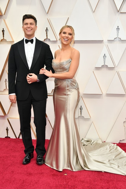 The Best Couples Looks At The 2020 Oscars That We're Still Obsessing Over Scarlett Johansson and Col...