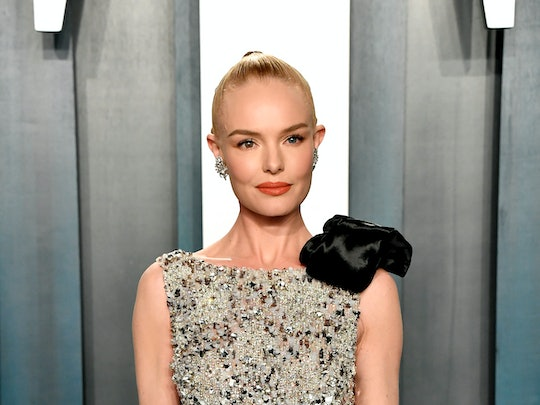 Kate Bosworth's Updo At The 2020 Vanity Fair Oscar Party Had So Three Different Stylistic Elements