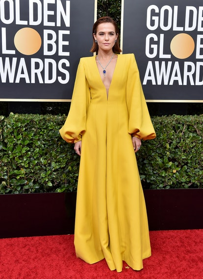 Olivia Wilde's 2020 Oscars After-Party Dress Was A Different Version Of Zoey Deutch's Golden Globes Look