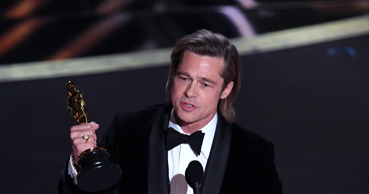 Brad Pitt Finally Revealed Who's Been Helping Him Write His Acceptance Speeches