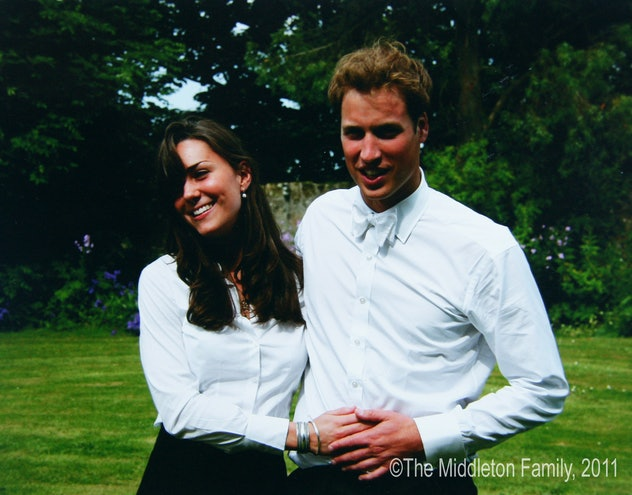 Prince William and Kate Middleton met in college