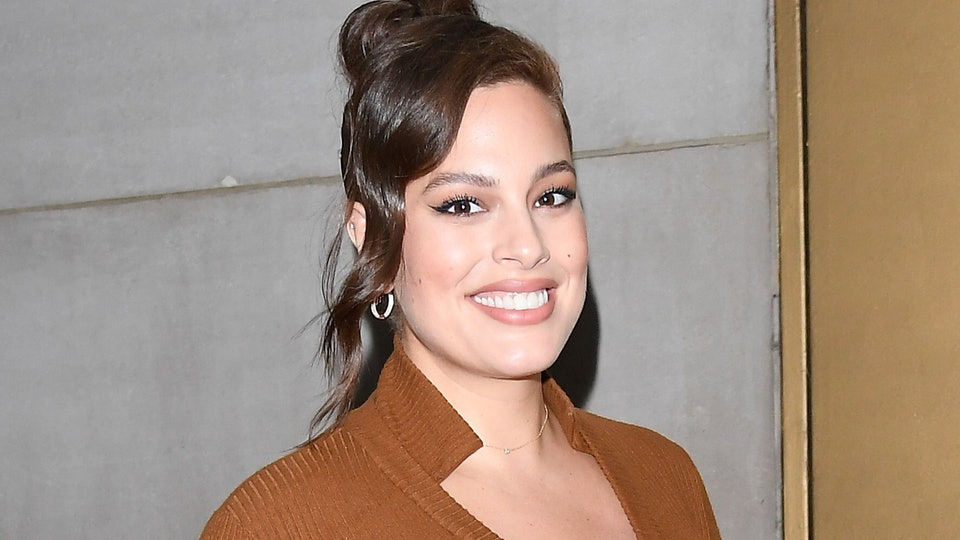 Ashley Graham opened up about postpartum disposable underwear