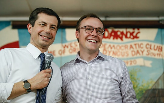 """Conservative radio host Rush Limbaugh questioned how parents would explain """"Mayor Pete kissing his husband"""" to their children."""