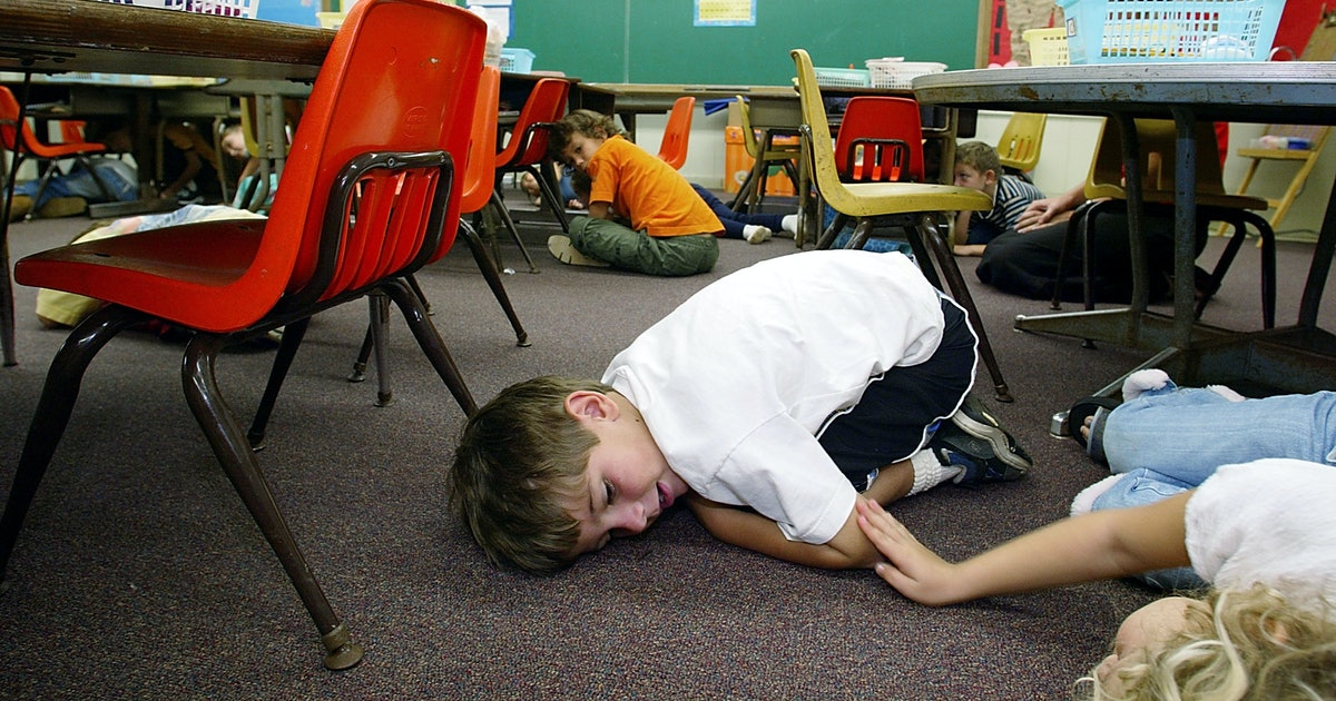 Schools need lockdown drills — but they don't need to traumatize children