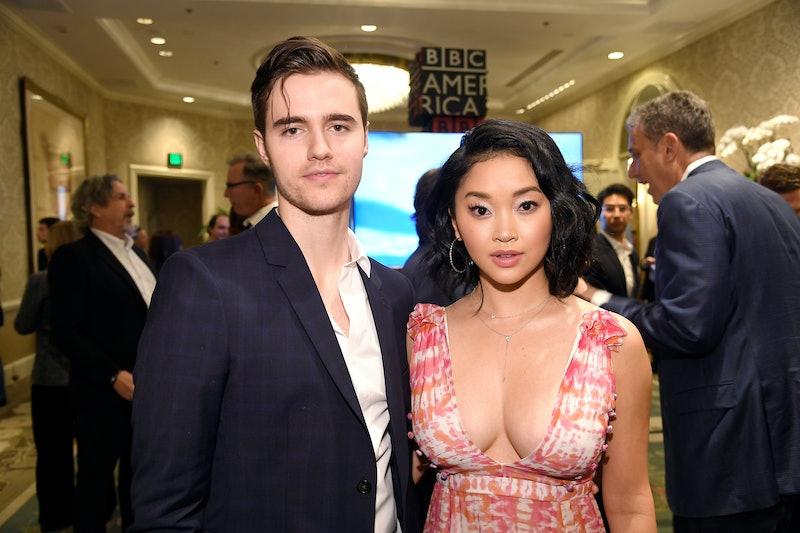 Lana Condor and her boyfriend. Photo via Getty Images