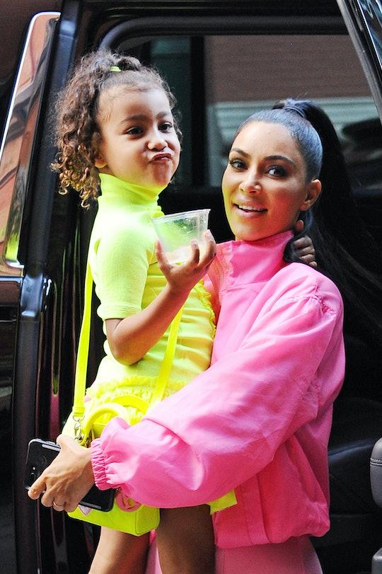 Kim Kardashian took her Instagram followers on a tour of her kids' playroom.