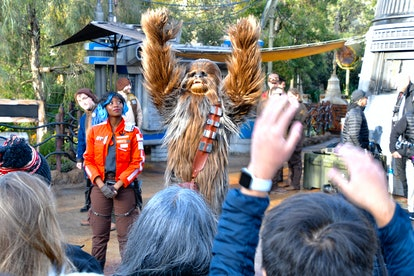 Star Wars Land draws big crowds at Disneyland.