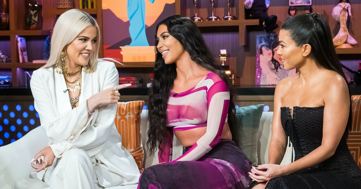 Khloé's Reaction To Kim & Tristan Hanging Out In This 'KUWTK' Clip Is Surprisingly Chill