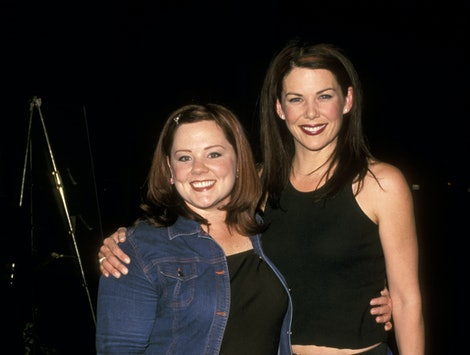 Melissa McCarthy posted a 'Gilmore Girls' reunion photo with Lauren Graham on Instagram.