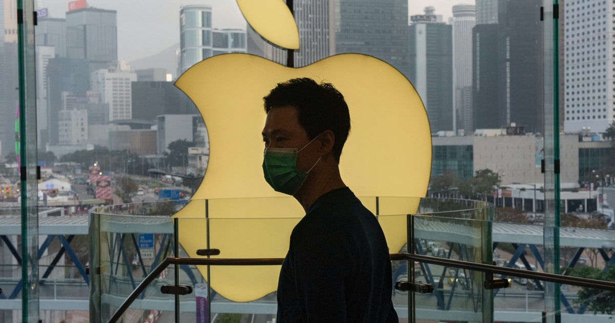 Apple says coronavirus is screwing up iPhone sales