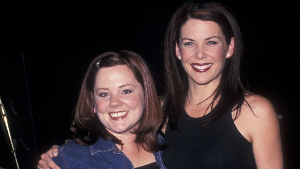Melissa McCarthy posted a photo of her and Lauren Graham