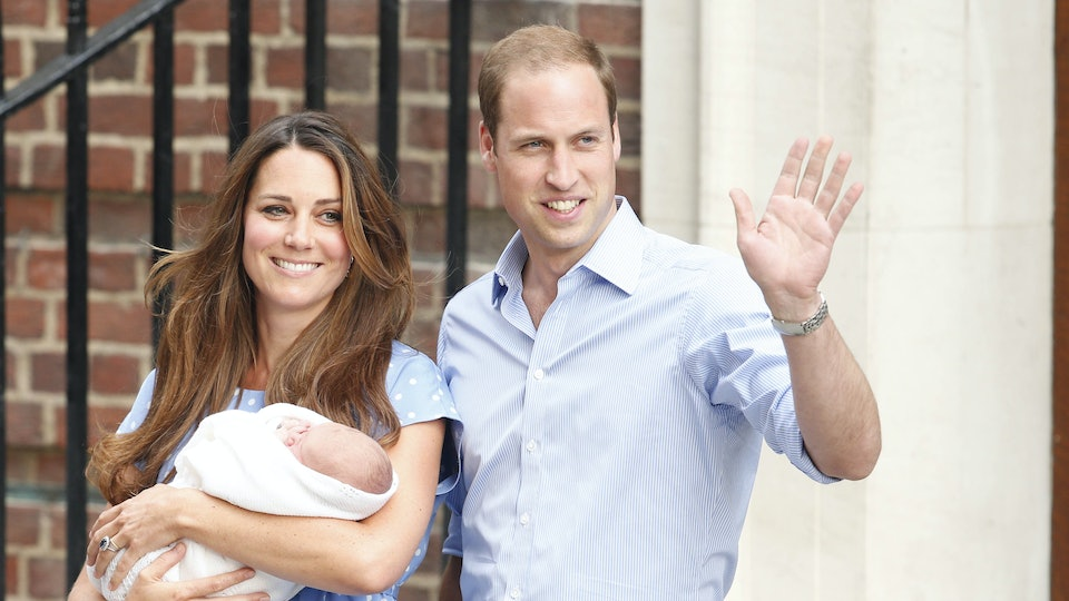"""Kate Middleton was """"terrified"""" standing on the hospital steps with newborn Prince George."""