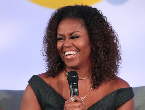 Michelle Obama's Throwback 80s Prom Photo Includes A Call To Action