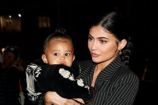 Kylie Jenner's Photo Of Stormi Wearing Hoop Earrings Has Fans Split