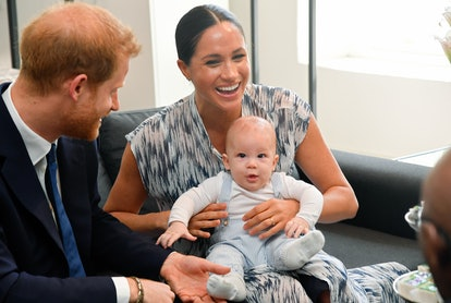 """Prince Harry, Meghan Markle, and their 9-month-old son, Archie, will enjoy a """"peaceful life"""" between..."""
