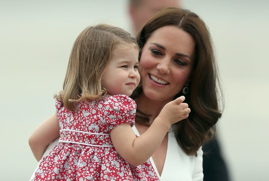 In a rarely personal interview, Kate Middleton revealed why a photo of Princess Charlotte smelling a flower is so special to her.