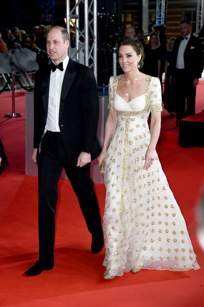 Kate Middleton wore a recycled Alexander McQueen dress to the 2020 BAFTAs