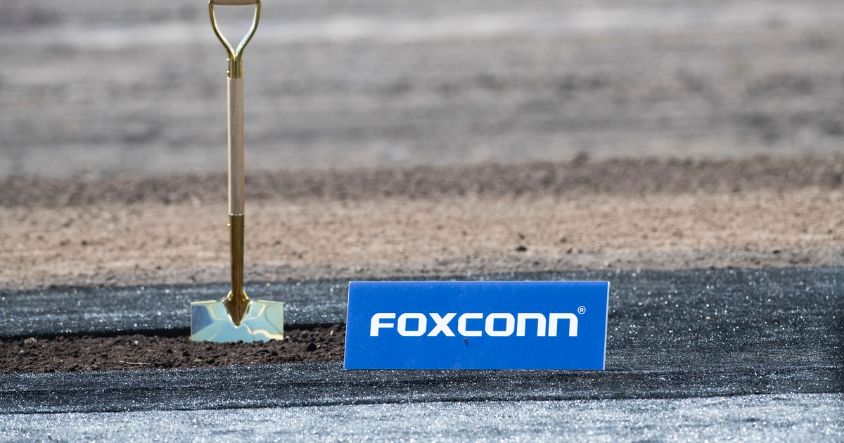 Foxconn is considering expanding its plants outside China because of coronavirus