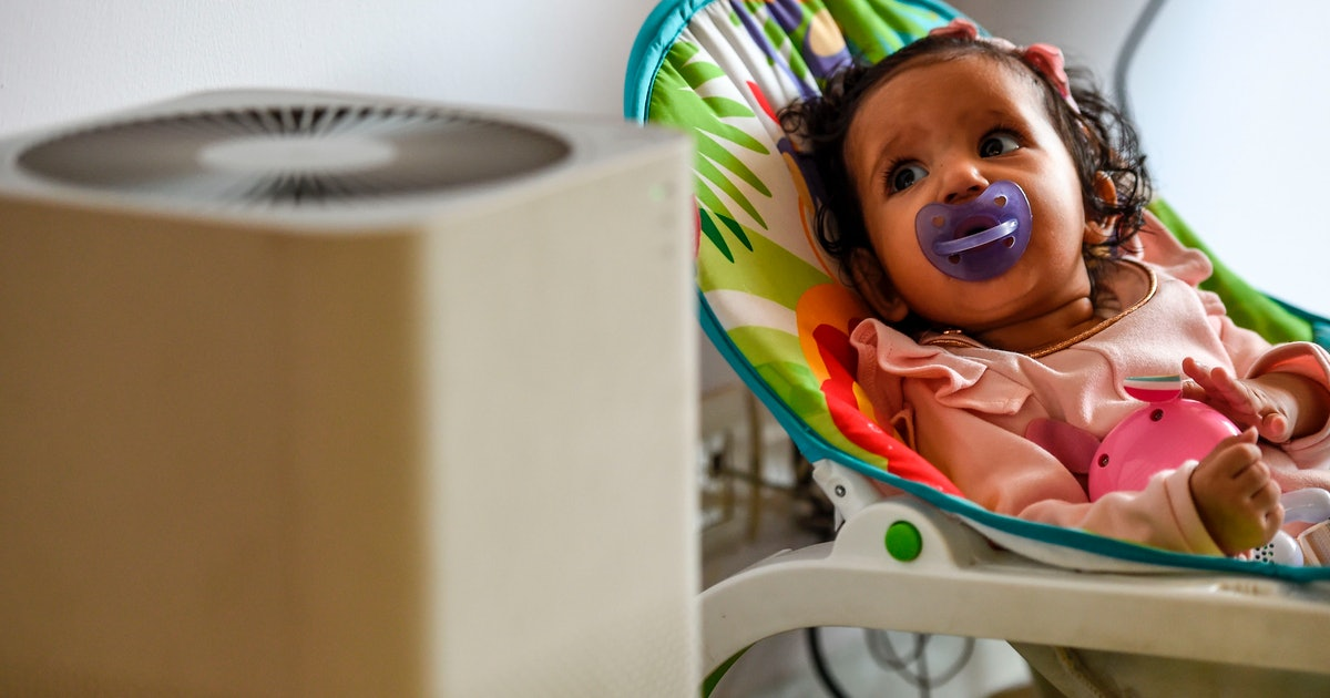 Some Air Purifiers Are Safe In Your Baby's Nursery, But Diffusers? Not So Much