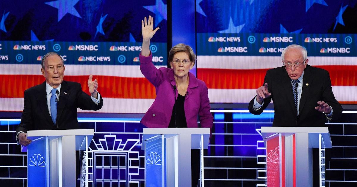 Twitter Can't Get Enough Of Liz Warren Tearing Mike Bloomberg Apart At The Debate