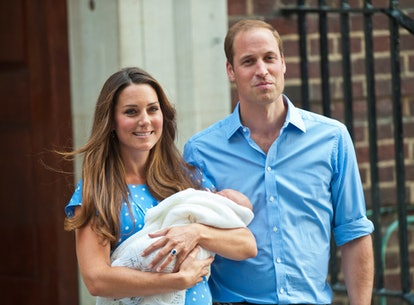 """Prince William was apparently filled with """"pure joy"""" at the birth of Prince George, according to Kate Middleton."""