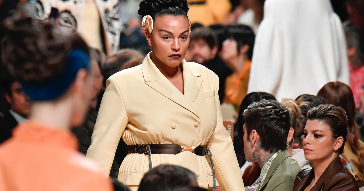Fendi Sent A Plus Size Model Down The Runway For The First Time