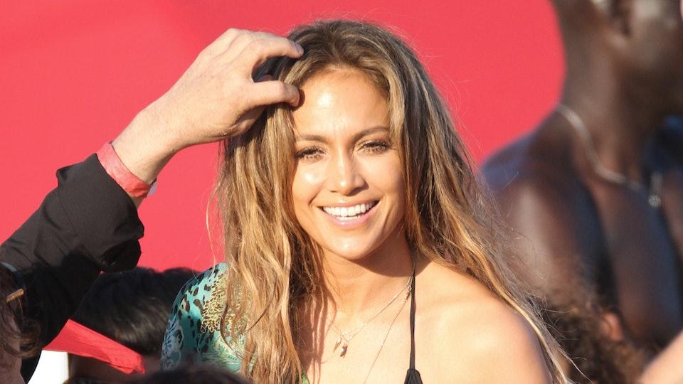 Jennifer Lopez is inspiring moms to post photos of their bikini bodies.