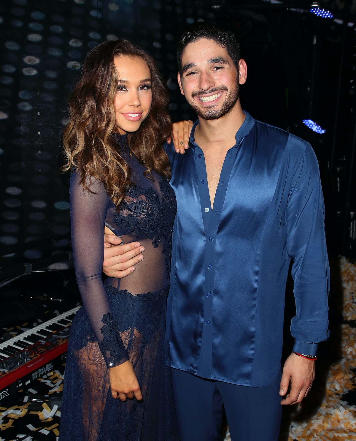 Before dating Noah Centineo, Alexis Ren had a high-profile relationship with Alan Bersten