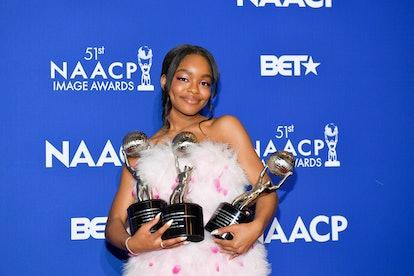 Marsai Martin won 4 NAACP Image Awards on Feb. 22.
