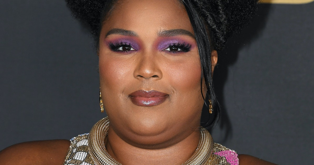 This Is No Optical Illusion: Lizzo Rocked A Mary Katrantzou Dress At The NAACP Awards