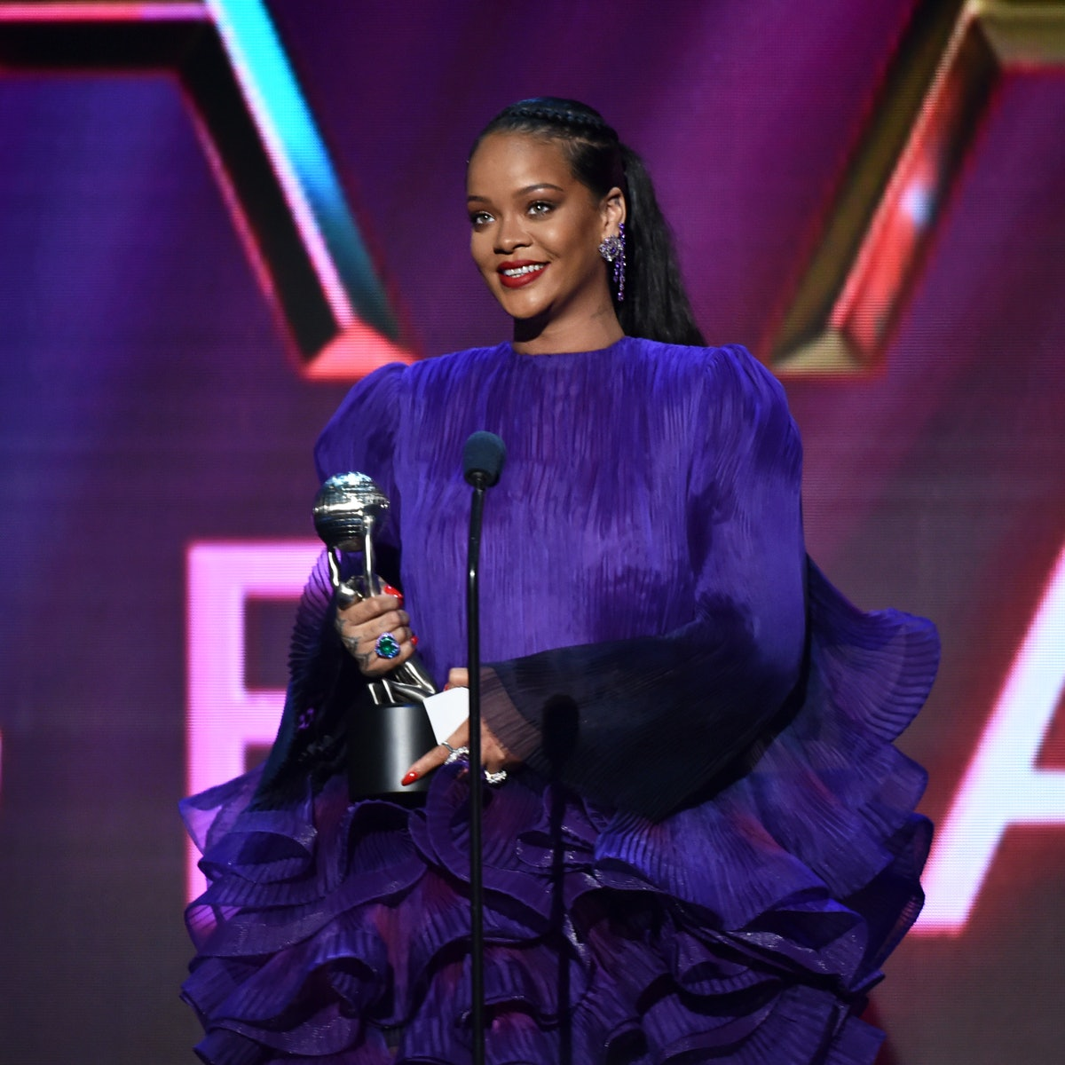 Rihanna's Speech At The 2020 NAACP Image Awards was a call for unity.