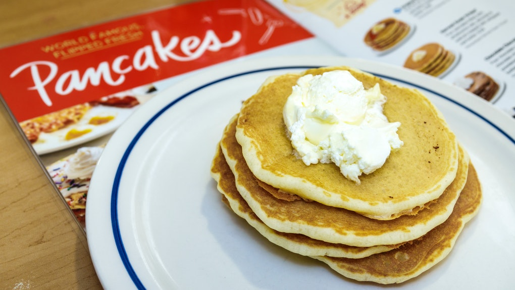 IHOP's Feb. 25 National Pancake Day 2020 Deal includes a free stack of buttermilk pancakes.