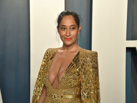 Tracee Ellis Ross' purple eyeshadow at the NAACP Image Awards was right in line with the actors' typical colorful looks