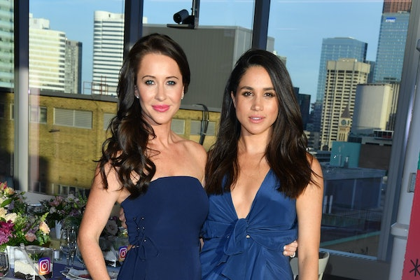 Meghan Markle poses for a snapshot with her best friend Jessica Mulroney.