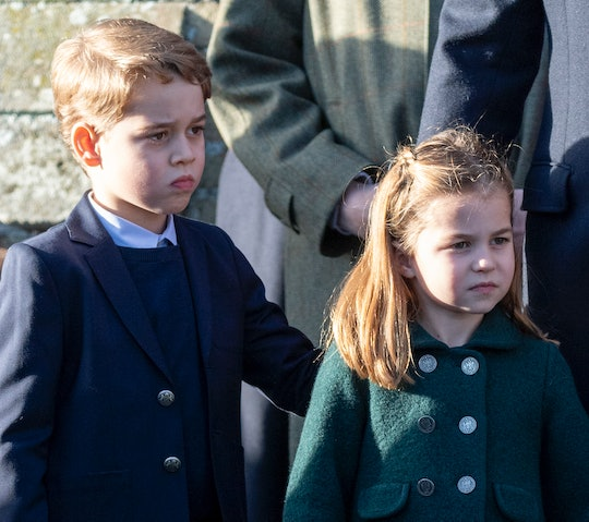 Kate Middleton and Prince William took their children lambing