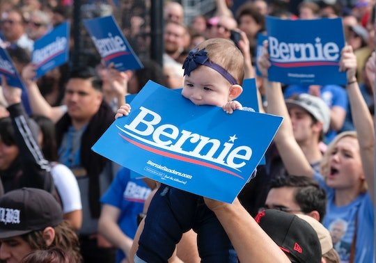 Bernie Sanders revealed a new free childcare and universal pre-K plan on Monday.