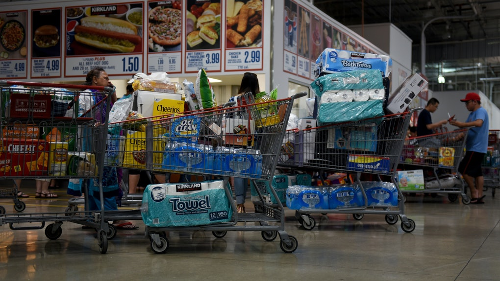 Costco's food court will reportedly serve members only soon.