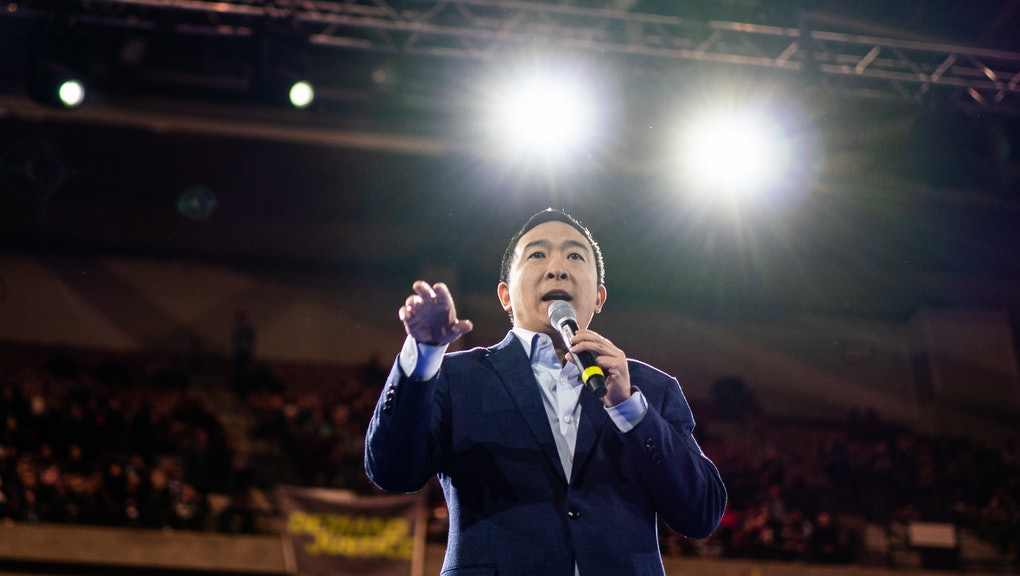 Andrew Yang ended his campaign after the New Hampshire primary.