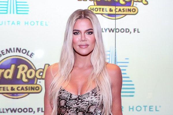 Khloe Kardashian arrives to the Hard Rock Florida.