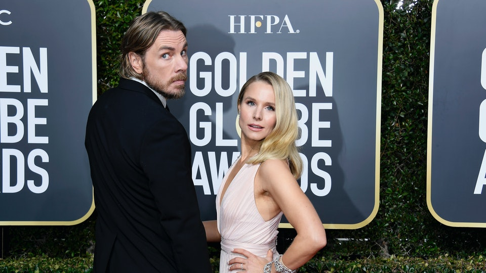 Kristen Bell and Dax Shepard narrowly avoided an awkward moment with her mom.