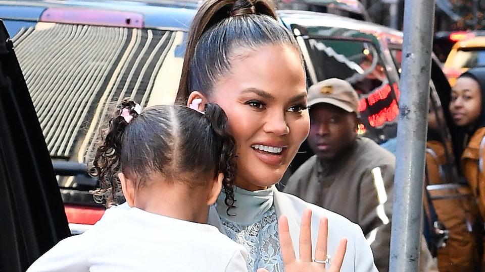 Chrissy Teigen's daughter Luna is not a fan of photos.