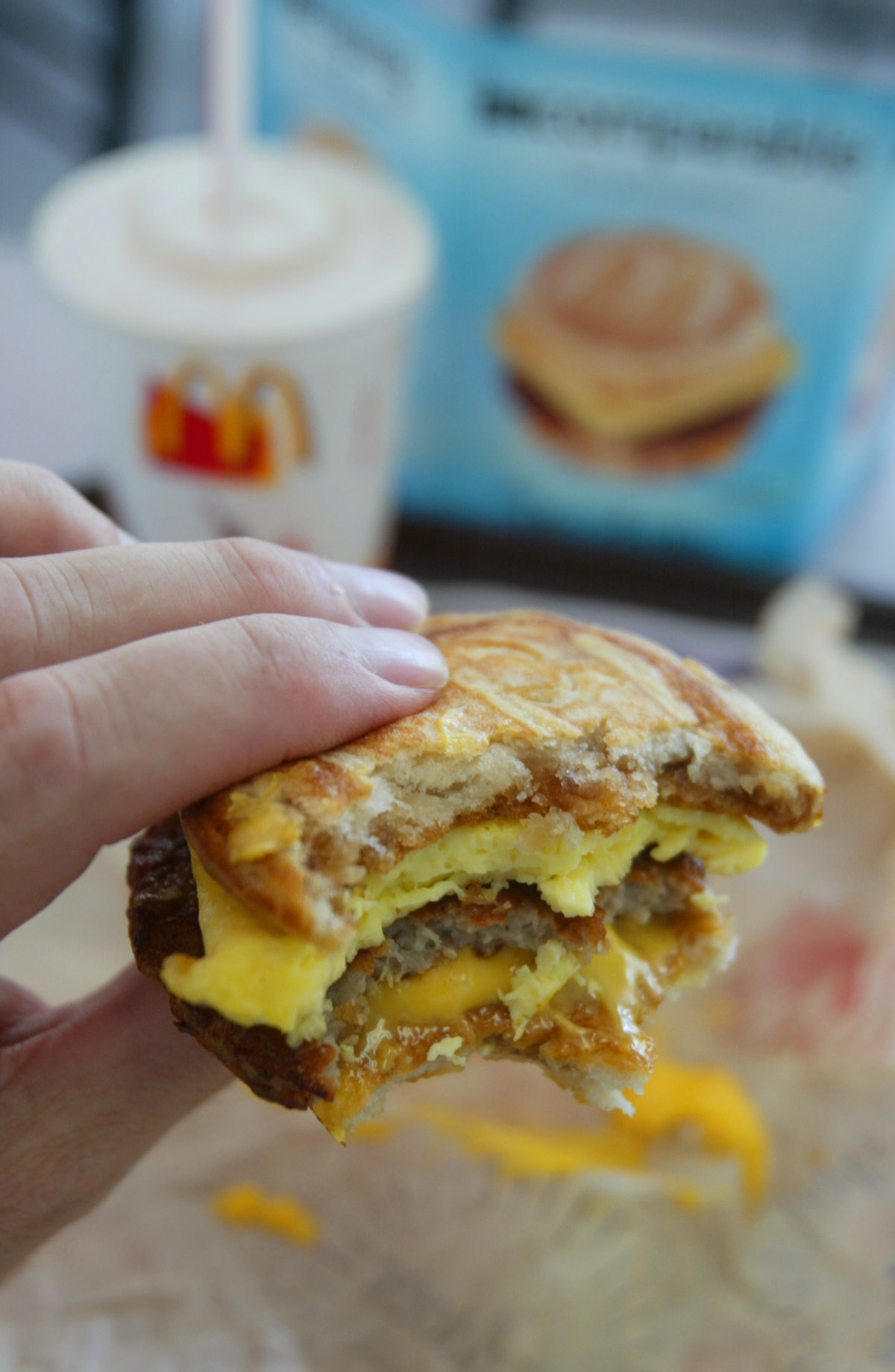 McDonald's 2 For $4 Mix & Match Deal For 2020 includes the Sausage McMuffin.