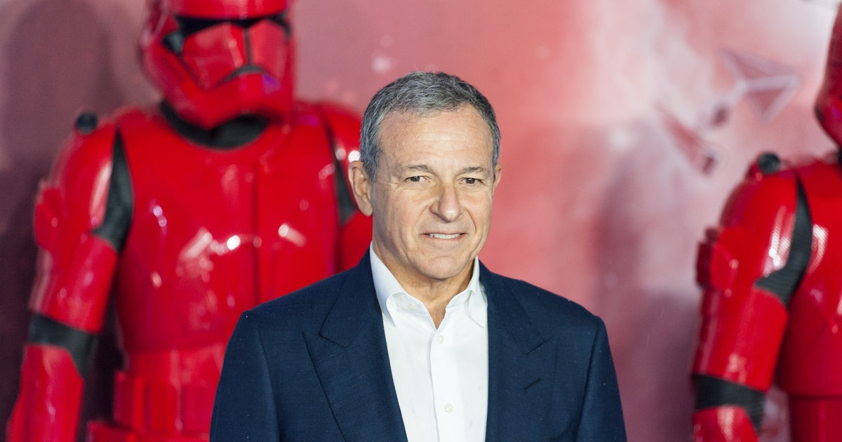Disney CEO Bob Iger hands over the keys to the kingdom