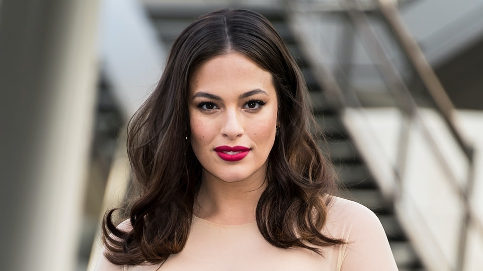Ashley Graham has taken to breastfeeding like a duck to water.