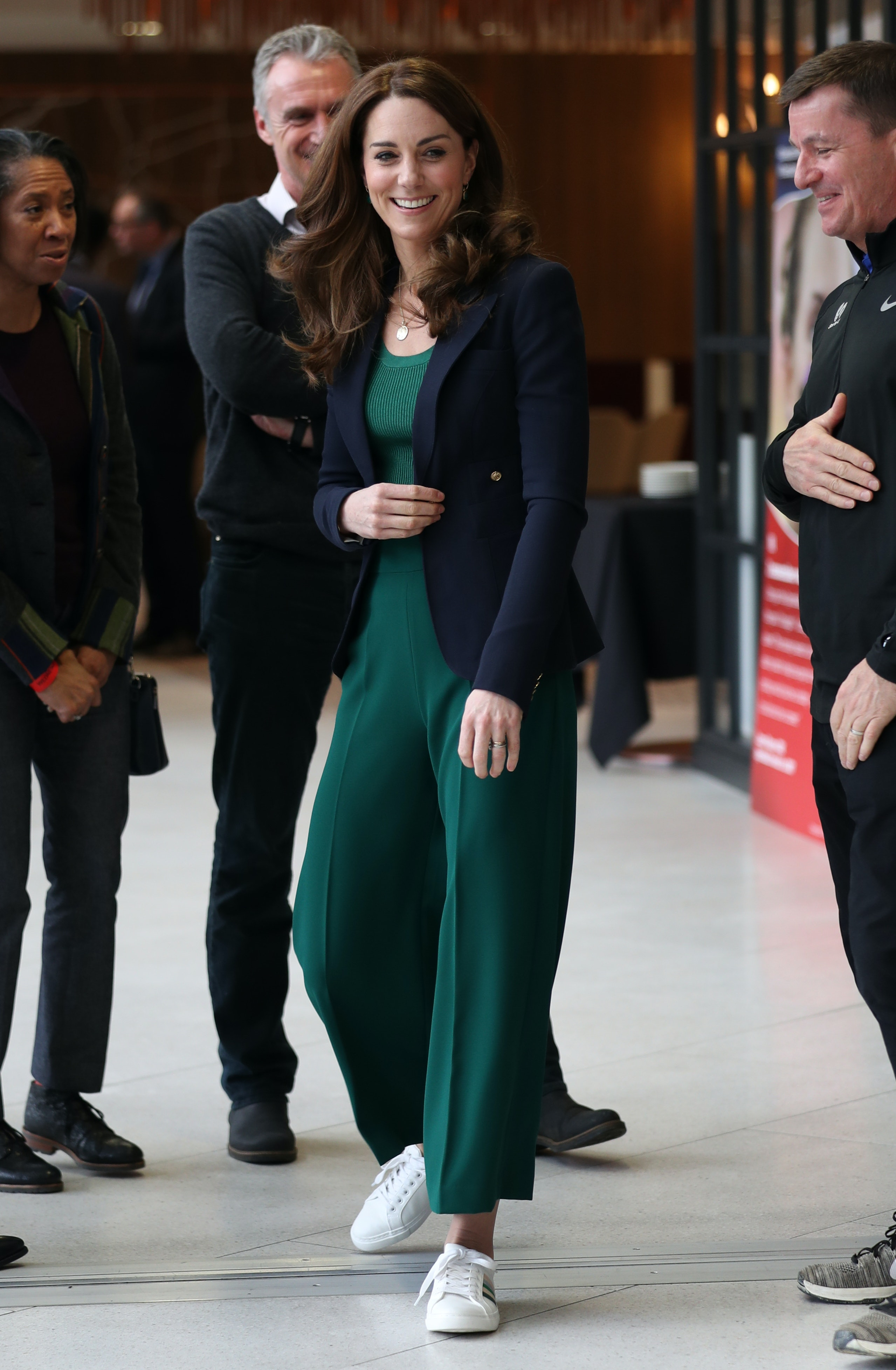 Kate Middleton's White Sneakers Are