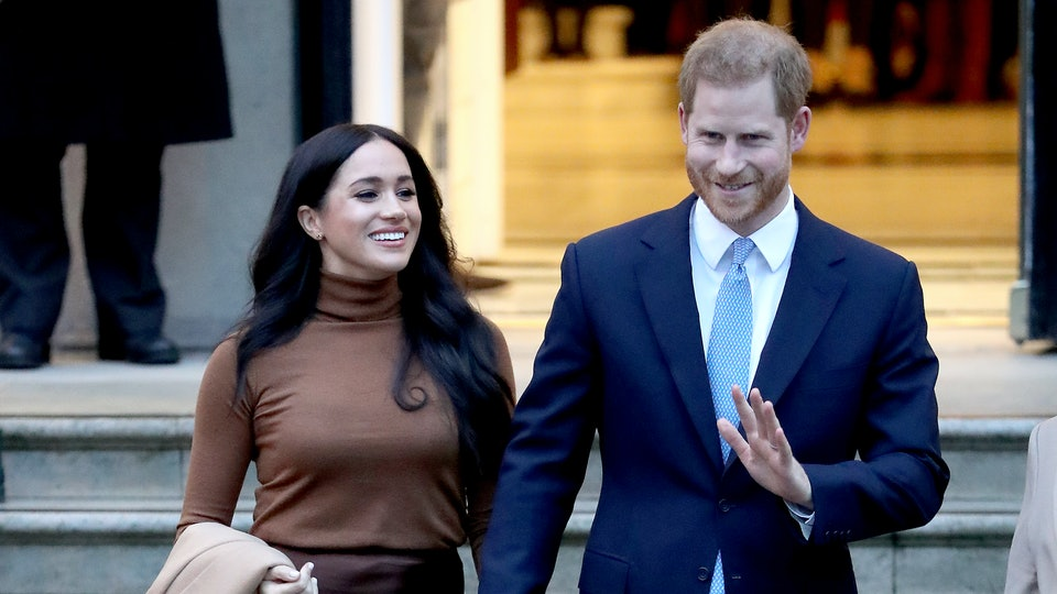 Some royal fans think Prince Harry and Meghan Markle stepping back from the royal family is an April Fool's joke.
