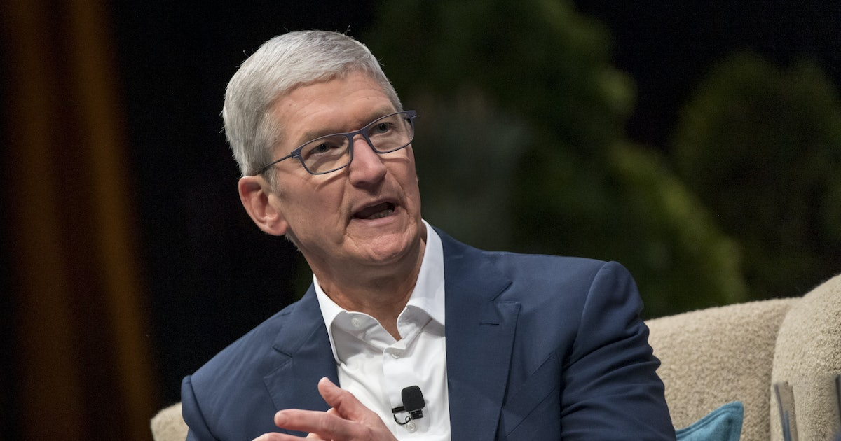 Tim Cook says China factories closed due to coronavirus are 'getting back to normal'