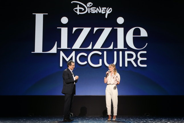 Hillary Duff reportedly wants a more adult version of the 'Lizzie McGuire' revival.