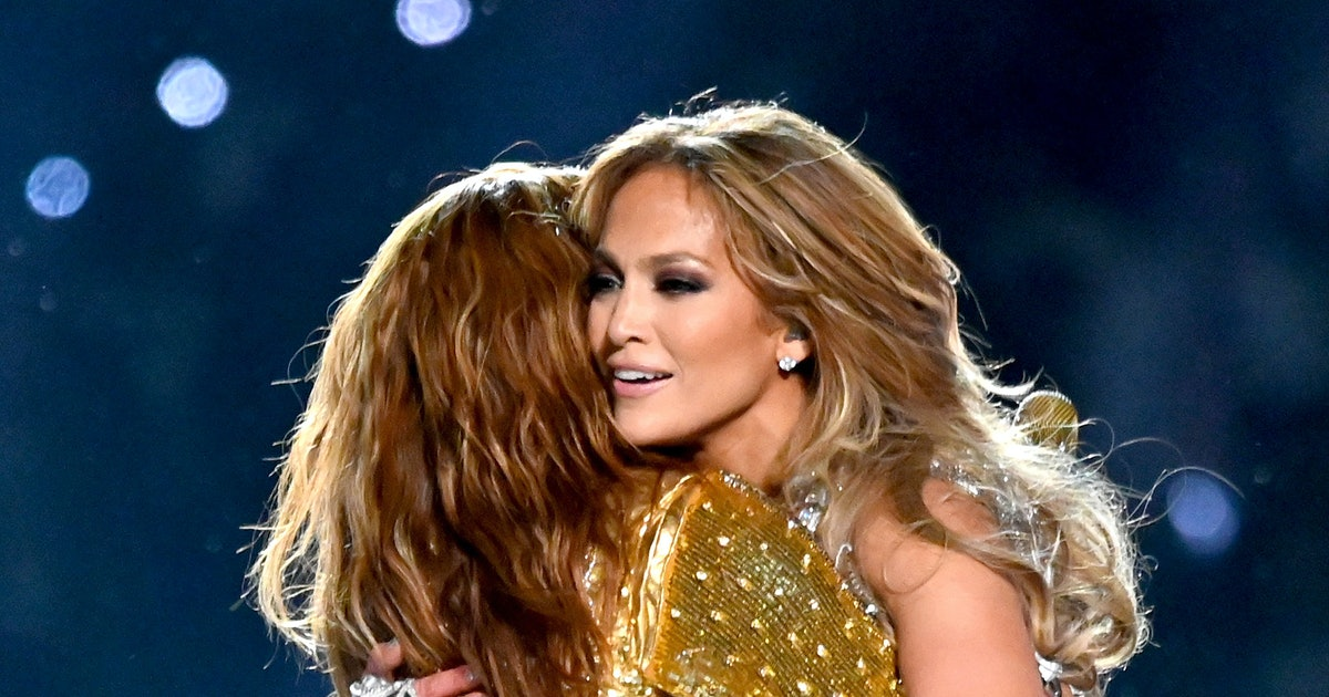 J.Lo & Shakira Shared A Post-Super Bowl Halftime Moment Fans Didn't See