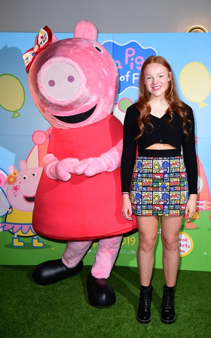 After 13 years voicing beloved children's character Peppa Pig, 18-year-old Harley Bird is stepping d...